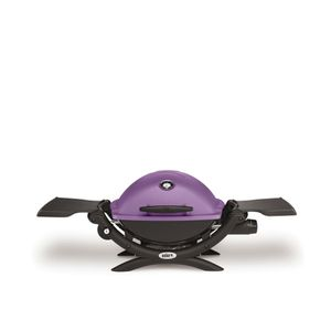 Image for Weber Grill Q 1200 Purple Gasgrillwagen