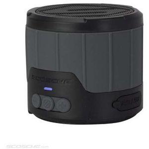 Image for Scosche BTBTLMGY boomBOTTLE Mini Wireless Lautsprecher