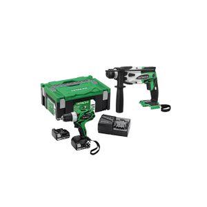 Image for Hitachi 95000631 Akku-Maschinen Set 2