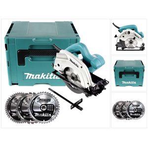 Image for Makita 5604 R 950 Watt Handkreissäge im Makpac inkl. 3x Kreissägeblatt für Holz