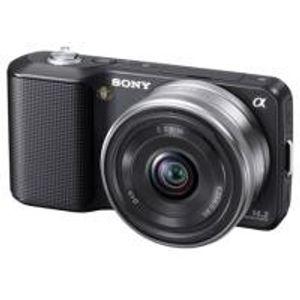 Image for Sony NEX3AB 16mm Schwarz EU-Ware