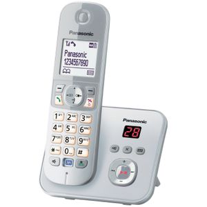 Image for Panasonic DECT KX-TG6821PDM Silver