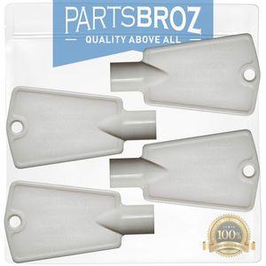 Image for PartsBroz 297147700 Gefrierschrank-Türschlüssel für Frigidaire-Gefrierschrank