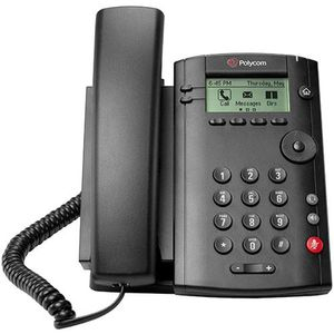 Image for Polycom VVX 101 VoIP-Telefon schwarz