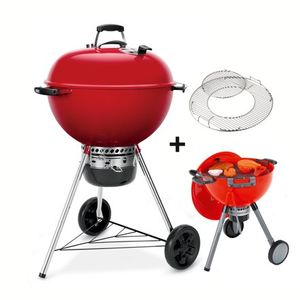 Image for Weber Master-Touch GBS 57 cm Holzkohlegrill rot