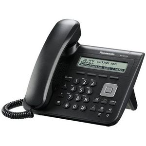 Image for Panasonic KX-UT113 VoIP-Telefon schwarz
