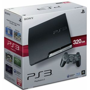 Image for Sony PlayStation 3 Slim Charcoal Black 320GB