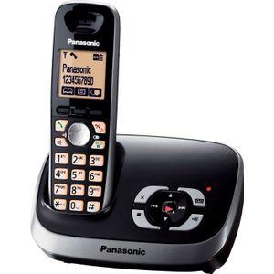 Image for Panasonic KX-TG6521GB Analog-Telefon schwarz