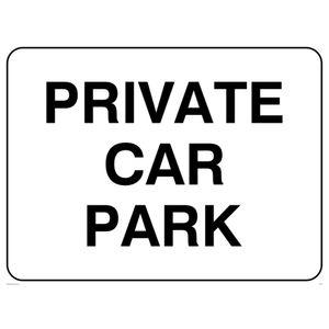 Image for Viking Schilder ir573-a3l-v''Private Car Park''-Zeichen