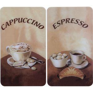 Image for Wenko Abdeckplatte universal Kaffeemotiv