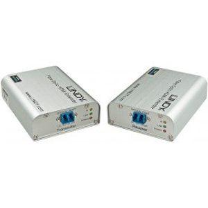 Image for LINDY 300m-450m LWL-Fibre Optic HDMI 2.0 10.2G Extender