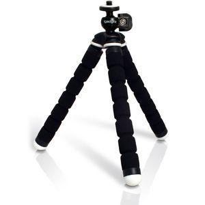 Image for igadgitz Leichtgewichts Klein Universal Ultraflexibel Schaum Dreibeinstativ Mini-Stativ für Canon PowerShot SD1100 IS