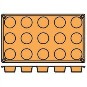 Image for Pavoni Formaflex Backform Silikon 15 Petit Fours