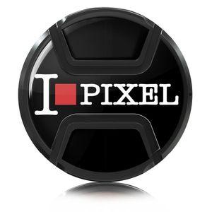 Image for Kaiser Objektivdeckel Snap-On 52 mm ''I Love Pixel''